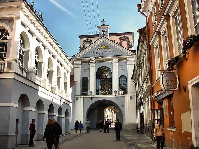 Ворота Зари, Вильнюс