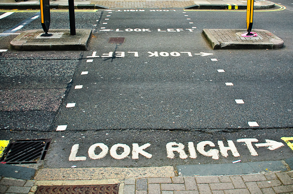 Look right - Look left London