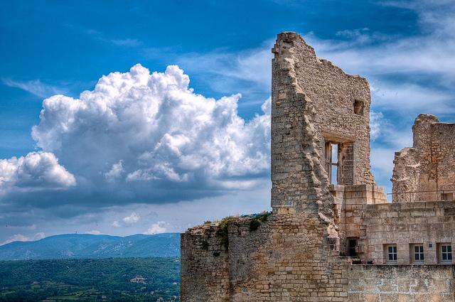 Castle of Marquis de Sade in Lacoste
