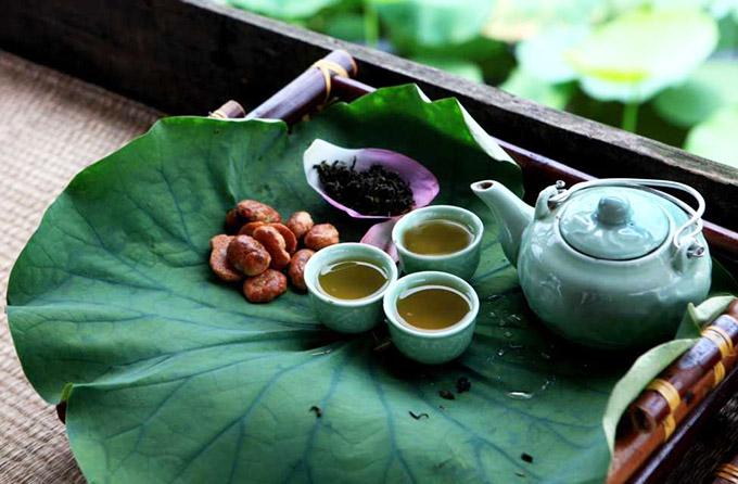 лотосовый чай