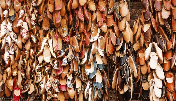 обувь из кожи