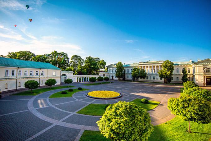 Вильнюсский университет и Президентский дворец