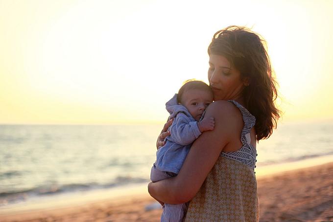 пляжный отдых с ребенком