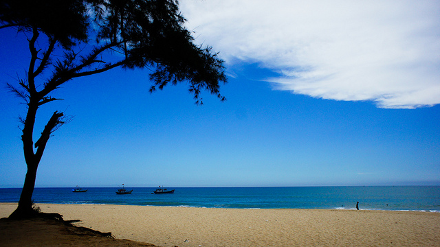 Чу пляж, Нячанг