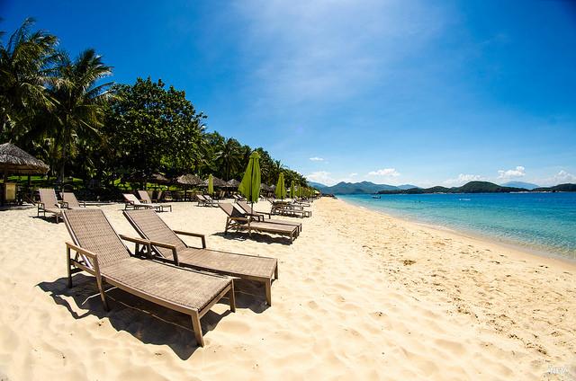 Хон Там пляж, Нячанг