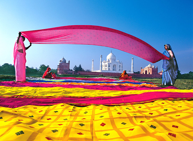 Ткани из Индии
