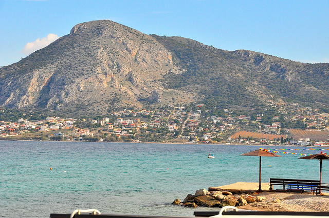 Пляжи Саламина