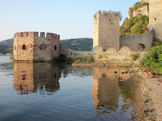 Сербия, крепость Голубац