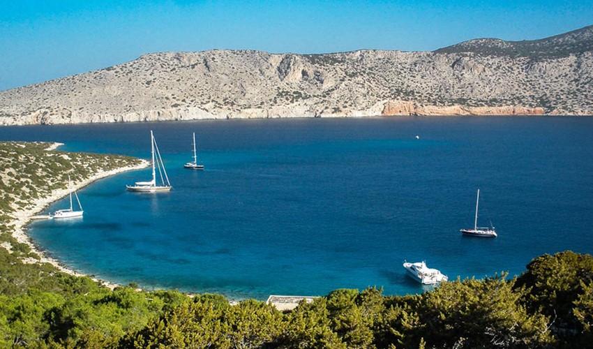 Алимья остров, Греция