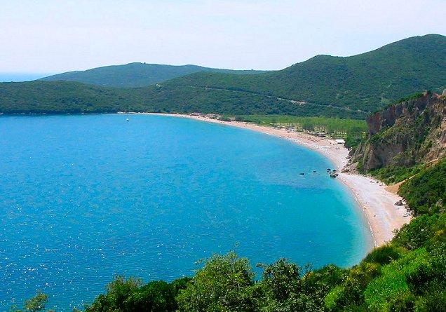 Пляж Яз, Будва, Черногория